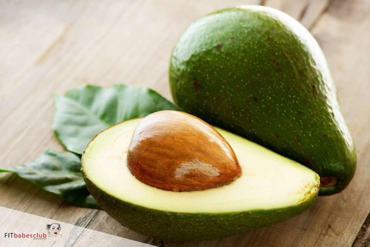 Avocado an high-fiber foods