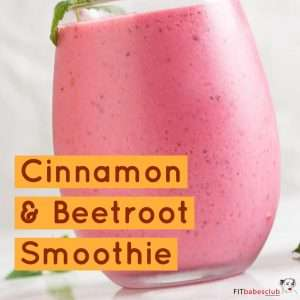 Cinnamon & Beetroot Smoothie