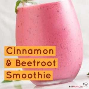Cinnamon & Beetroot Smoothie