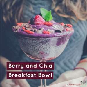 Berry and Chia Breakfast Bowl