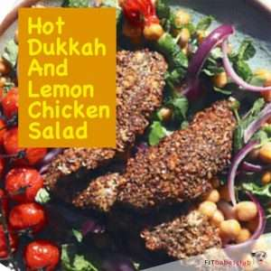 Hot Dukkah & Lemon Chicken Salad