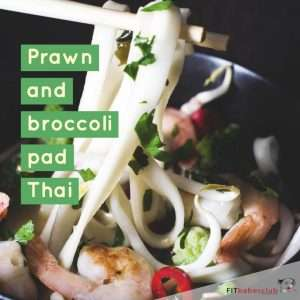 Prawn and Broccoli Pad Thai