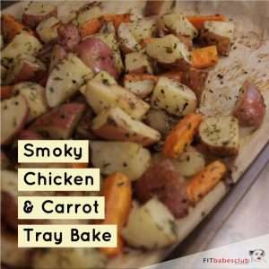 Smoky Chicken & Carrot Tray Bake