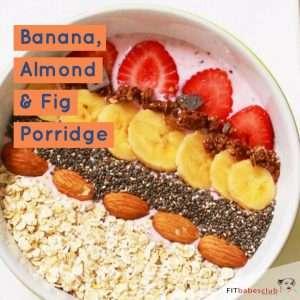 Banana, Almond & Fig Porridge