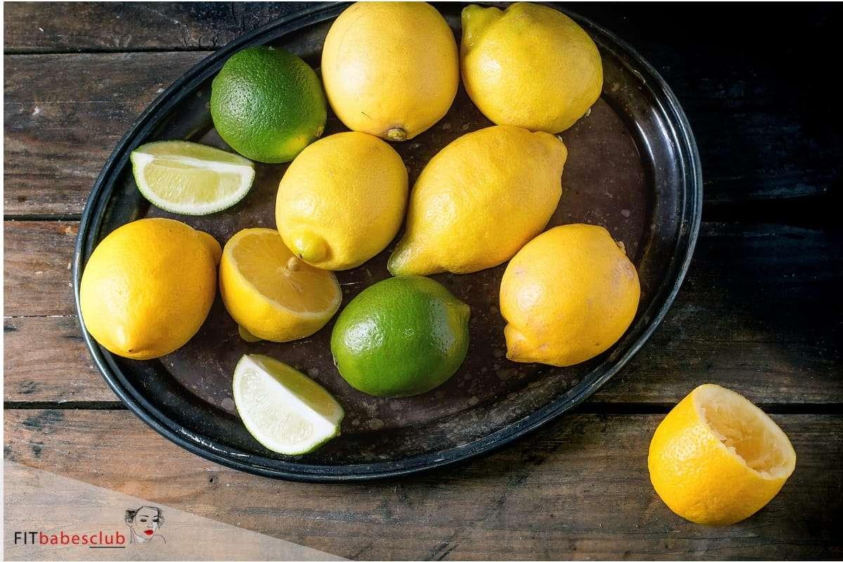 Lemon good sources of vitamin C