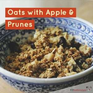 Oats with Apple & Prunes