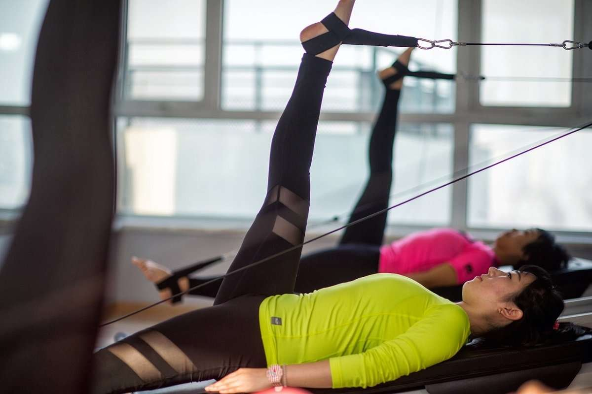 Pilates exercise, Pilates for women, weight loss, Pilates fitness class;