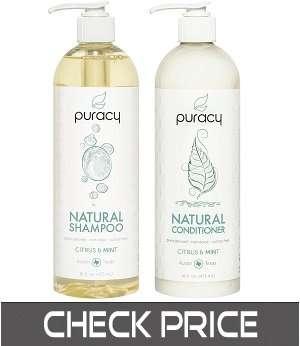 Puracy Natural Citrus & Mint Shampoo