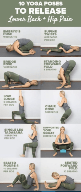 most effective yoga poses